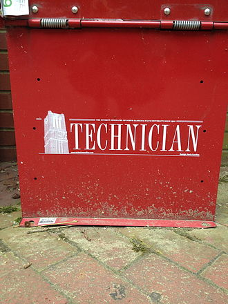 Technician (newspaper) - Technician Newspaper Stand