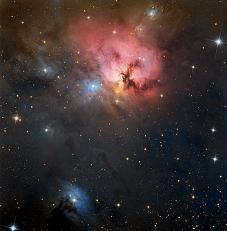 NGC 1579 - Wide field image of NGC 1579 from the 0.8m Schulman Telescope at the Mount Lemmon SkyCenter
