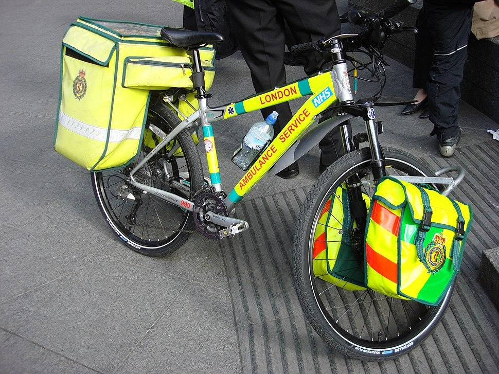 NHS bicycle