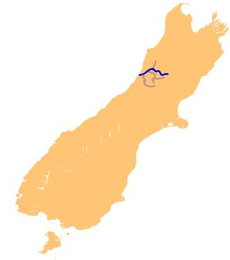 Grey River - Image: NZ Grey R