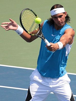 Open Castilla y León - Seventeen-year-old, eventual World No. 1 Rafael Nadal from Spain clinched the victory in singles in 2003