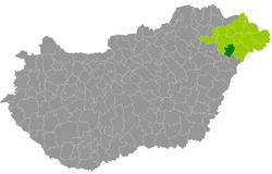 nagykálló térkép Nagykállói járás – Wikipédia nagykálló térkép
