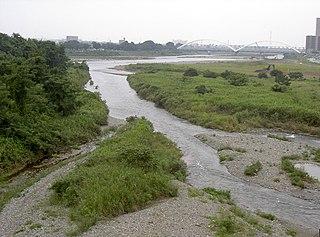 river in Yamanashi and Kanagawa Prefectures, Japan