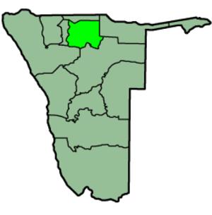 Oshikoto Region - Image: Namibia Regions Oshikoto 250px