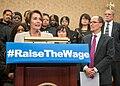 Nancy Pelosi - RaiseTheWage, 2014.jpg