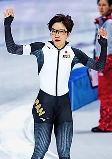 Nao Kodaira speed skater from Japan