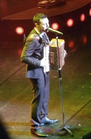 Nathan Carter - Carter at the Glasgow Royal Concert Hall in September 2014