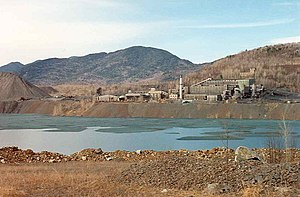 Tahawus, New York - Former National Lead Industries mine at Tahawus