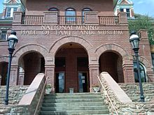 National Mining Hall of Fame and Museum (front).jpg