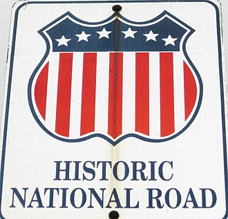 National Road - Image: National Road Sign cropped