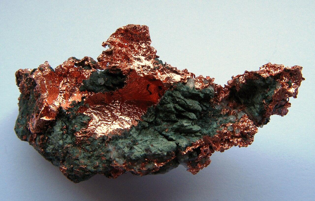 Minéraux et pierres précieuses - Page 5 1280px-Native_Copper_%28mineral%29