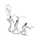 Nativo do Novo Mundo lançando flecha com o propulsor ou estólica.pdf