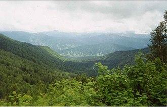 Mezhdurechensky District, Kemerovo Oblast - Podnebesnye Zubya Nature Park,  in Mezhdurechensky District