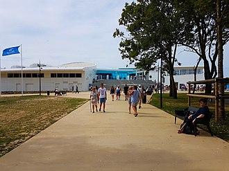 Nausicaä Centre National de la Mer - Entrance of the aquarium