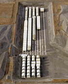 Naval Reactor Compartment Packages in Trench 94 at Hanford, WA
