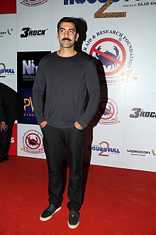 Nawab Shah at Housefull 2 screening.jpg