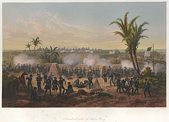 Carl Nebel - Image: Nebel Mexican War 04 Bombardment of Vera Cruz
