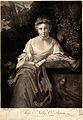 Nelly O'Brien. Mezzotint by J. Wilson after Sir J. Reynolds. Wellcome V0038969.jpg