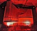 Neusäß, St. Ägidius (Hindelang-Orgel bei Nacht, rot) (1).jpg