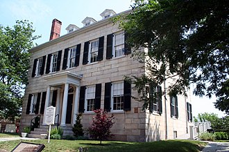 New Bedford Whaling National Historical Park - Image: New Bedford Whaling National Historical Benjamin Rodman Mansion 2006