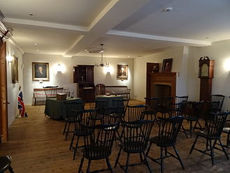New Castle Court House Museum - The Court House's Assembly Room