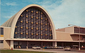 Louis Armstrong New Orleans International Airport - The airport in the 1960s