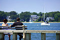 New York. Sitting on the dock of the bay. East Hampton. Sag Harbor (2905173245).jpg