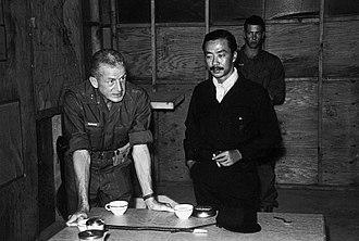Rathvon M. Tompkins - 24th December 1967: South Vietnamese Vice president Nguyễn Cao Kỳ and Marine Major general Rathvon M. Tompkins during a briefing at Đông Hà Combat Base, Vietnam.