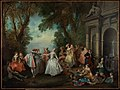 Nicolas Lancret (French - Dance before a Fountain - Google Art Project.jpg