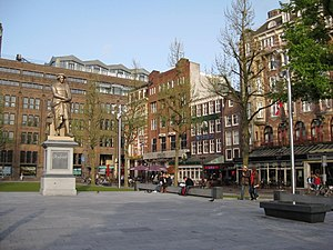 Rembrandtplein - Rembrandtplein after reconstruction 2009