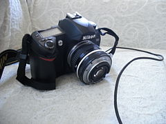 Nikon D70s + 50mm lens in reverse position.jpg