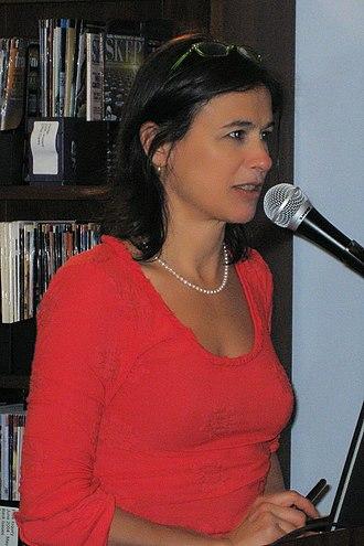 Nina Burleigh - Burleigh speaking at CFI DC Voices of Reason, December 14, 2008
