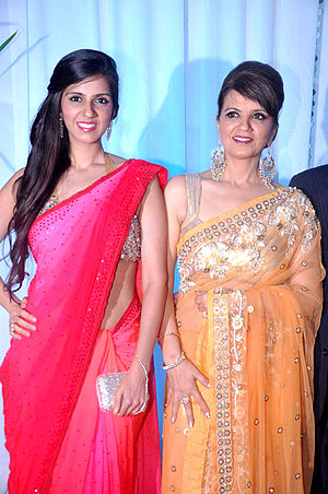 Neeta Lulla - Neeta Lulla at Esha Deol's wedding reception