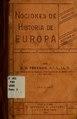 Nociones de historia de Europa (IA nocionesdehistor00free).pdf