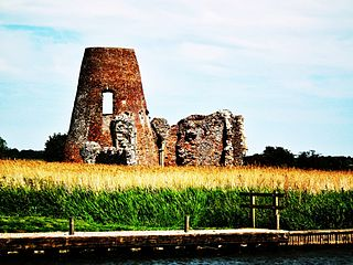 St Benets Abbey Grade I listed abbey in North Norfolk, United Kingdom