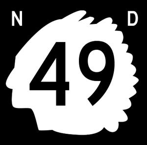 Morton County, North Dakota - Image: North Dakota 49