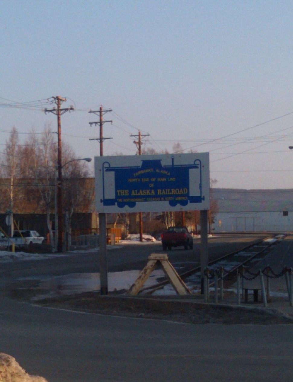 North End of Alaska Railroad
