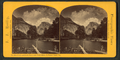 North and South Domes and Cloud Effect, Yo Semite Valley, Cal, by Reilly, John James, 1839-1894.png