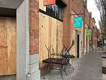 Northwest district explosion for 220 salon portland