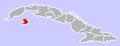 Nueva Gerona, Cuba Location.png