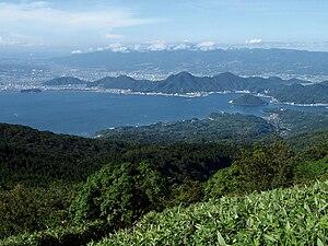 Numazu, Shizuoka - View from Mount Kinkan