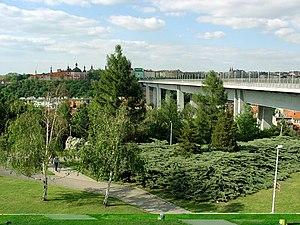 Nusle Bridge - Image: Nuselsky most