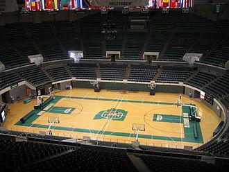 Convocation Center (Ohio University) - Image: OHIO Convo Center 2