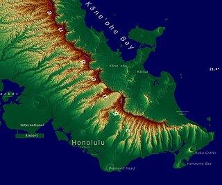 Honolulu Volcanics Volcanic field in Oahu, Hawaii