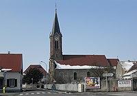 Obersaasheim, Église Saint-Gall 1.jpg