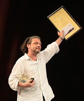1st Odessa International Film Festival - Andrey Kavun- Winner of the 1st OIFF