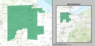 Ohios 5th congressional district American political district