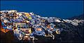 Oia, Santorini Blue Hour (8352162408).jpg