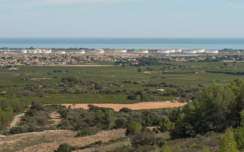 Oil depot, Frontignan, Hérault 01
