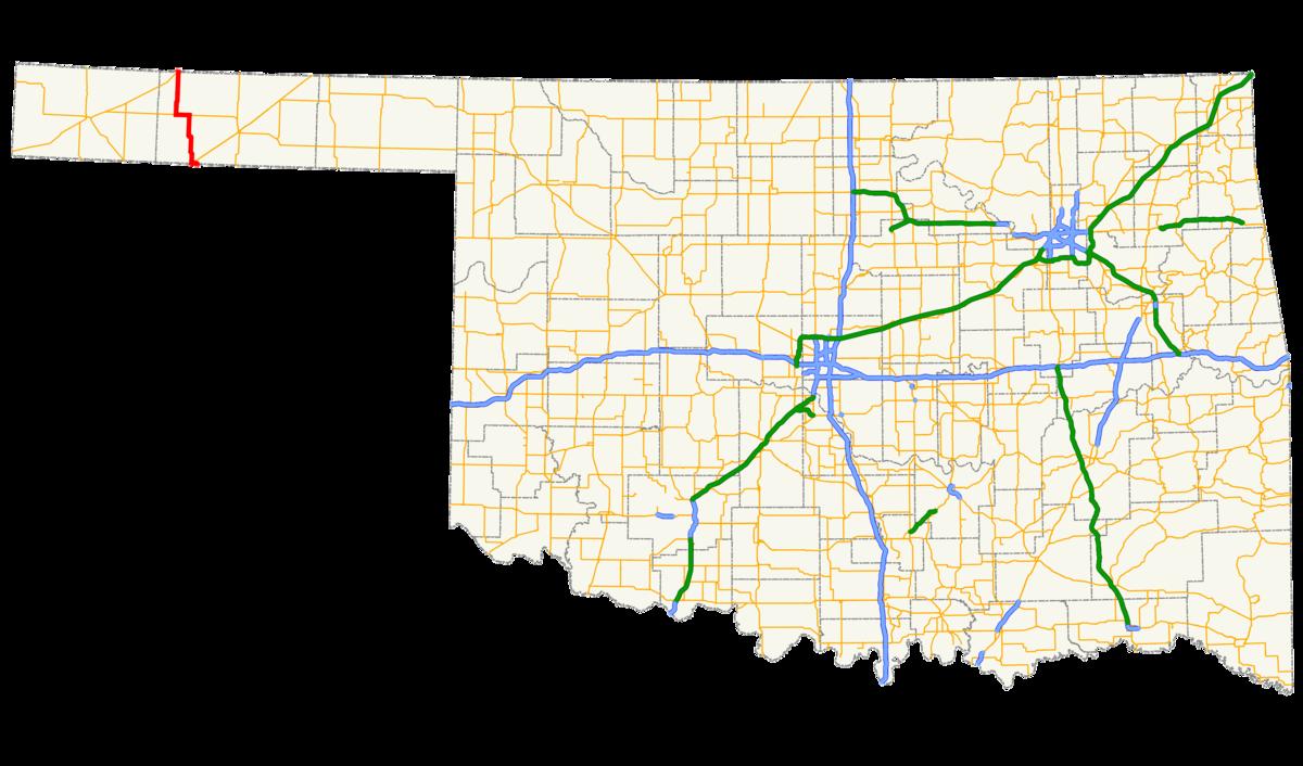 Oklahoma State Highway 95 Wikipedia